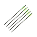 "Barnett 22"" Arrows with field points Moon Nock set of 5 16079"