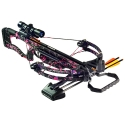 Barnett Raptor FX Pkg Pink with Quiver, 3-Arrows,Scope 78629