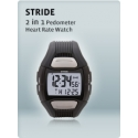 MIO Stride Pedometer Heart Rate Monitor