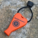 Ultimate Survival JetScream Whistle Orange 300-0041-001