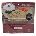 Wise Foods Creamy Pasta and Vege Rotini with Chicken 2 Serving
